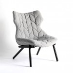 Kartell_FOLIAGE_armchair_grey side